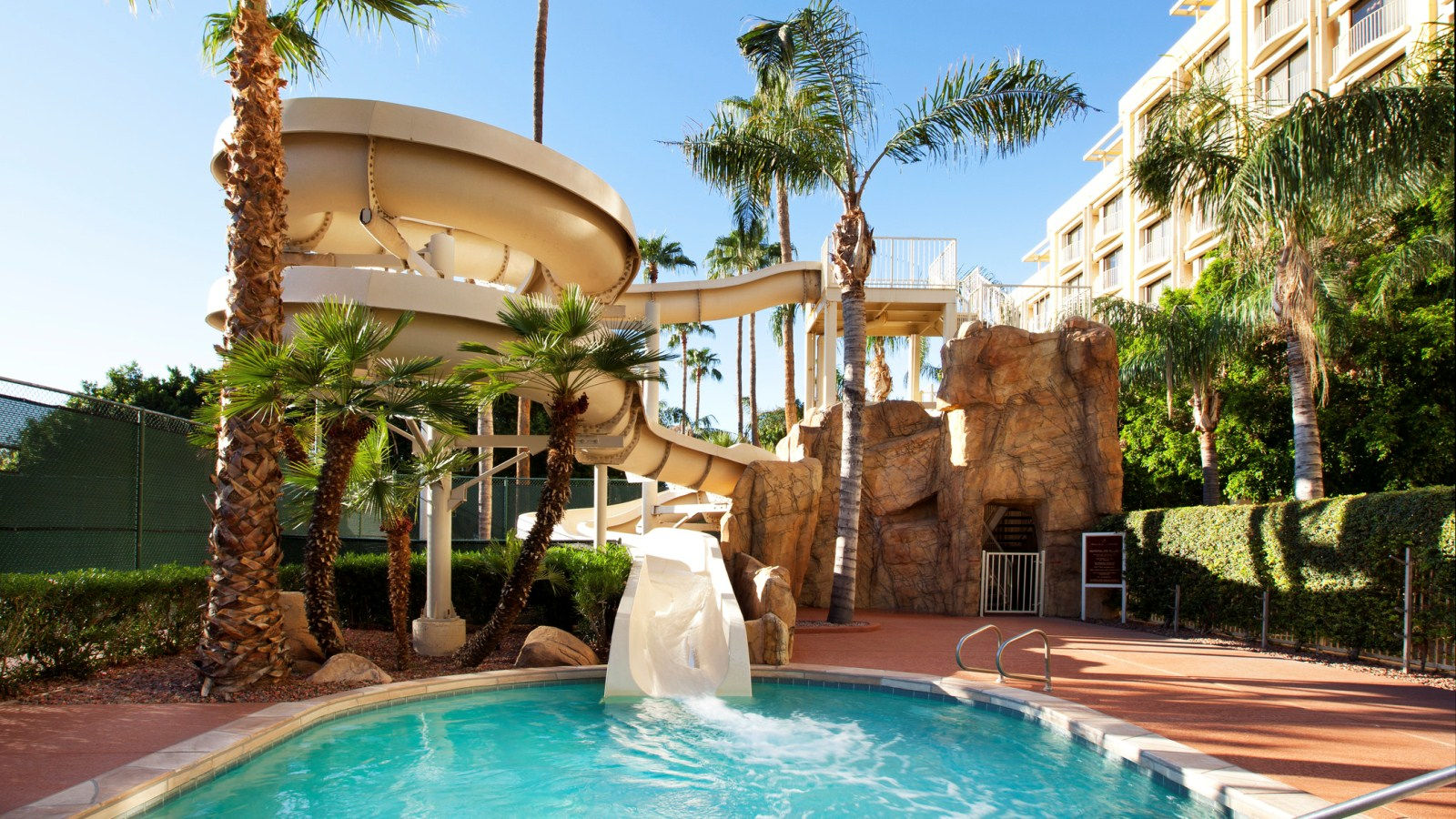 Sheraton Crescent Hotel - Water Slide